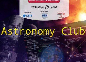 Haldia Institute of Management starts an Astronomy Club