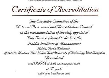 NAAC Accreditation