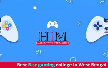 Top bsc gaming institute in west bengal