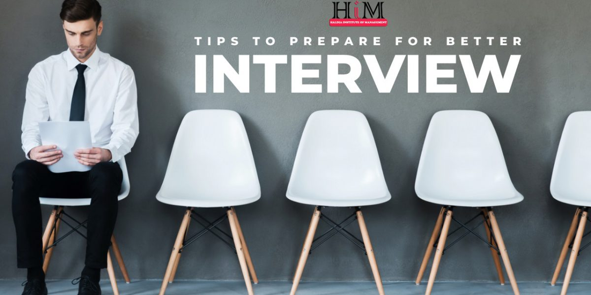 Tips to prepare better for an interview